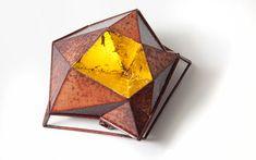 """""""Stellar Brooch by Bongsang Cho. Copper, Enamel, 23 K gold leaf, Laser welding & Enameling. Enamel Jewelry, Jewelry Art, Antique Jewelry, Vintage Jewelry, Jewelry Design, Inkscape Tutorials, Vitreous Enamel, Contemporary Jewellery, Contemporary Art"""