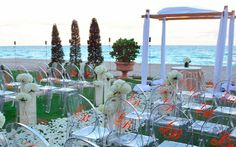ocean view Great Lawn location at Acqualina | South Florida wedding venue | http://www.acqualinaresort.com/meetings-weddings/acqualina-weddings/photo-gallery.php