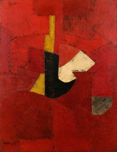 Serge Poliakoff - Composition abstraite,1953