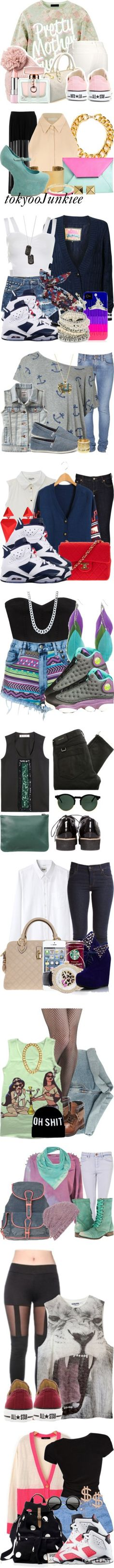 """""""3 * These sets are my favorite of all times!!!! * 3"""" by xmonishax ❤ liked on Polyvore"""