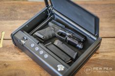 The market offers today the best biometric gun safes for the storage of at least 2 guns and with a division for the cartridges. Fingerprint Gun Safe, Fingerprint Technology, Best Home Safe, Drawer Safe, Biometric Lock, Office Safe, Wall Safe, Electronic Lock