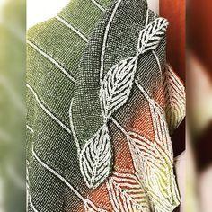 New brioche shawl, pattern is coming soon #knitting #abcknitting #briocheknitting #briochestitch #briocheaddict #briocheshawl #knitstagram…