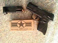 Vet Made Ammo 9mm Luger, 115Gr RN 250round/Bx