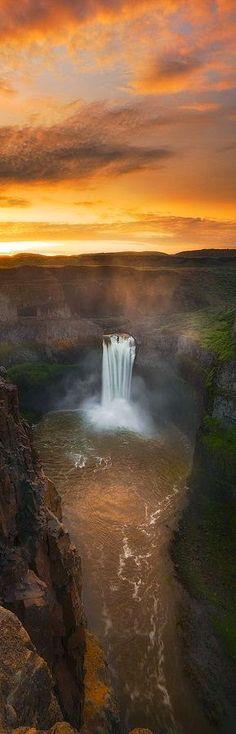 Best Amazing Places On Earth - Google+ Palouse Falls - Washington State, USA - by Paul James