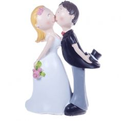 Comical Cake Topper Kissing Couple This comical fun cake topper has the bride and groom giving eachother a sweet kiss Approx size - height width depth Material - resin Sweet Kisses, Marry You, Wedding Cake Toppers, Kissing, Amazing Cakes, Decorative Accessories, Bride Groom, Resin, Wedding Decorations