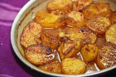 Πατάτες φούρνου λουκούμι Cookbook Recipes, Baking Recipes, Vegan Recipes, Bbq Menu, Fun Cooking, Mediterranean Recipes, Greek Recipes, Side Dishes, Curry