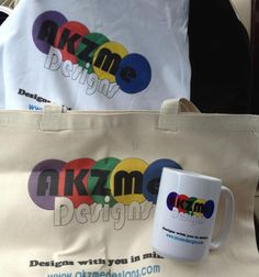LOGO gear designs by AKZME Designs Printed by Cafepress