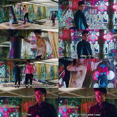 "#Shadowhunters 1x08 ""Bad Blood"" - Alec and Magnus"