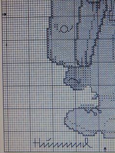 """The Postman"" Hummel cross stitch  -  pattern 1C"