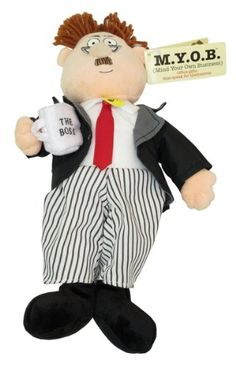 DealsJungle MYOB Doll The Boss Talking Doll For Home and Garden Decoration  Gift Modern Present Wife Favor Halloween Her Black Friday Brother -- Click on the image for additional details.