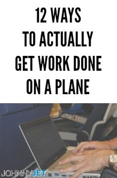 My friends are often surprised to learn that I get most of my work done on airplanes. When one friend recently asked me how I do it, I decided to write a post to share my tips with all of you. So here are my 12 ways to actually get work done on a plane: