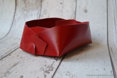 A personal favourite from my Etsy shop https://www.etsy.com/uk/listing/454213764/scarlet-red-leather-jewellery-storage