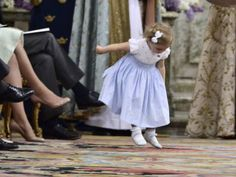 Princess Leonore being adorable