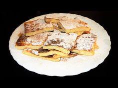 Οι συνταγές του Δίας!Dias recipes!: Γλυκιά Γαλατόπιτα με Αλεύρι,Χωρίς Φύλλο Greek Sweet Milk Custard Pie -Galatopita