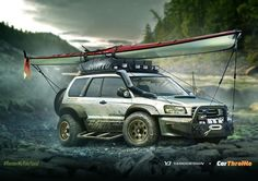 """With , we're giving you the chance to win a free design and print at ! This is last week's winner's Subaru Forester. Lifted Subaru, Subaru Cars, Subaru Forester Xt, Subaru Impreza, Subaru Outback Offroad, Sports Wagon, Sweet Cars, Rally Car, Motor Car"