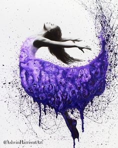 Inner Spirit by Ashvin Harrison is printed with premium inks for brilliant color and then hand-stretched over museum quality stretcher bars. Money Back Guarantee AND Free Return Shipping. Ballerina Painting, Ballerina Art, Ballet Art, Art Pop, Dancing Drawings, Art Drawings, Dance Paintings, Spirited Art, Dance Photography
