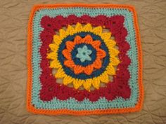 Ravelry: Project Gallery for Sweet and Fair Afghan Square pattern by Julie Yeager