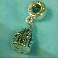 PANDORA DISNEY WORLD CINDERELLA CASTLE DANGLE AUTHENTIC PANDORA DISNEY WORLD CINDERELLA CASTLE DANGLE CHARM NEW Pandora  Jewelry Bracelets