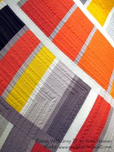 Playing with Gray II by Kate Stiassni - 'Spaces in Between': 2013 Contemporary Textile NYC Exhibition.  Photo by made by ChrissieD