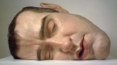 Ron Mueck presents a major solo exhibition at Fondation Cartier pour l'art contemporain, featuring a selection of new and recent human sculptures. Human Sculpture, Sculpture Art, Contemporary Sculpture, Contemporary Art, Fondation Cartier, Ex Machina, Art Plastique, Installation Art, Les Oeuvres