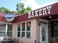 Rick's Bakery, Fayetteville AR... This place serves edible pieces of heaven. #fayettevilleoriginal #AR #WPS