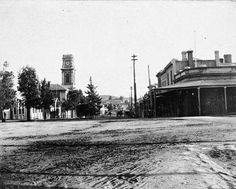 Barker St,Castlemaine in Victoria in 1894.