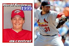 """Lance Lynn from the 1999 Little League World Series. He was 12, 5'9"""" and 169lbs."""