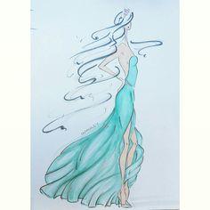 Fashion Illustration by Olga Saley