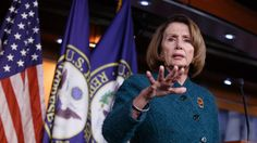 A day after House Minority Leader Nancy Pelosi, D-Calif., was grilled by Meet The Press host Chuck Todd on whether her party's leadership was out of touch with the current political climate, the nearly three-decade veteran of Congress mistakenly referred to President Donald Trump as President Bush.