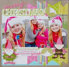 Kristen Swain, Cricut, Expression, scrapbook, scrapbooking, layouts, crafts, paper crafts, diecuts, single page, layout, christmas,Freshly Picked, Winter is in the Air, Carousel, Celebrate with flourish,