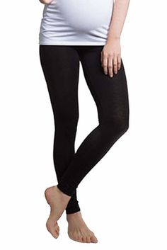 Solid Black BOOB leggings with maximum comfort! Maternity Closes, Maternity Stretch Pants... Free Gift with Purchase...  FREE SHIPPING in US