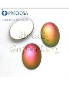 Cabochons in cristallo della Repubblica Ceca certificati Preciosa, pronti per decorare ogni tua creazione!