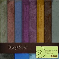 Grungy Solids  - Free Digital Papers from Paper Street Designs