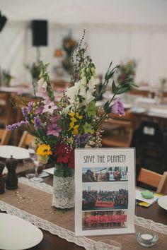 Image by Maureen du Preez - Claire Pettibone | The Perch Oxford | Rustic Wedding | Wild Flower Bouquet | Maureen Du Preez | Meadow Wedding | Pub Wedding