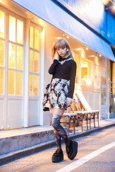 ストリートスナップ [楠 世蓮(SELEN)] | Grimoire, NADIA, グリモワール, ナディア | 渋谷 | Fashionsnap.com