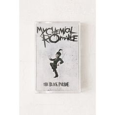 My Chemical Romance - The Black Parade Cassette Tape ($9.98) ❤ liked on Polyvore featuring home, home decor, urban outfitters and black home decor