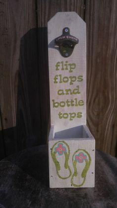 Handmade Wooden Bottle Opener by TalkingPallets on Etsy