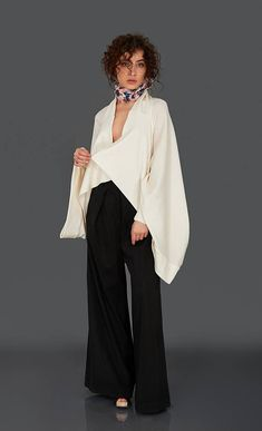Hey, I found this really awesome Etsy listing at https://www.etsy.com/listing/250928659/white-kimono-poncho-cape-white-cardigan