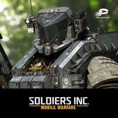 Soldiers Inc: Mobile Warfare, Plarium Ukraine on ArtStation at https://www.artstation.com/artwork/4dAbl