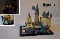 LEGO Ideas - Microscale Hogwarts
