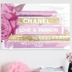Oliver Gal  Co. Aspirational Fashion Canvas Print