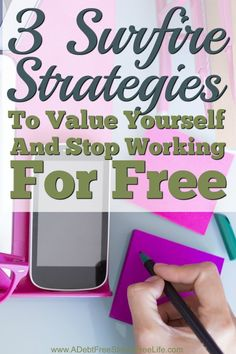 Why do so many people have a hard time valuing their work? I used this same system to stop bartering and working for free and started valuing my work enough to charge for it and you can too!