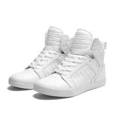 SUPRA SKYTOP Shoe | GREY - WHITE | Official SUPRA Footwear Site