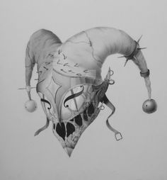 evil jester art - Google Search