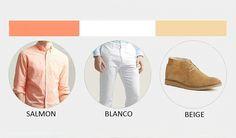 Buenos días hoy quiero compartirles cuarto look de #jueves la siguiente combinación de color : #salmon #blanco #white #beige #felizjueves recuerda #vivelamodacongusto con #juanvanegas