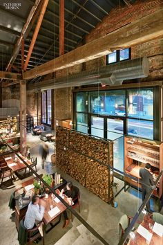 Wood dominates Jiun Ho's interior for San Francisco's Michelin two-star restaurant Saison, which just moved to a converted 1888 electrical p...