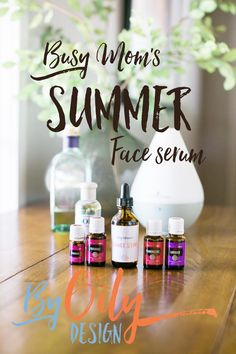 How to make the best natural face serum to protect and repair your skin from harsh summer sun. Recipe for the best natural face serum using Essential oils.