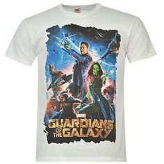 Mens Marvel Guardians Of The Galaxy Printed T Shirt £13.99 #marvel #superhero #guardiansofthegalaxy