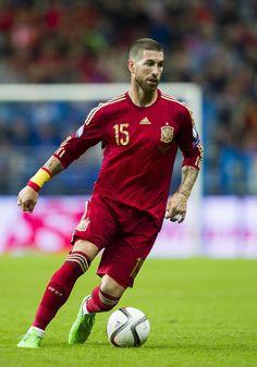 Sergio Ramos Photos - Spain v Slovakia - UEFA EURO 2016 Qualifier - Zimbio