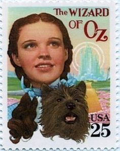 The Wizard of Oz Stamp looks similar to the stamp design and recently past by US House Member Pelosi to commemorate herself!